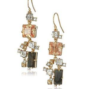 🆕Alexis Bittar Labradorite Stone Crystal Earrings